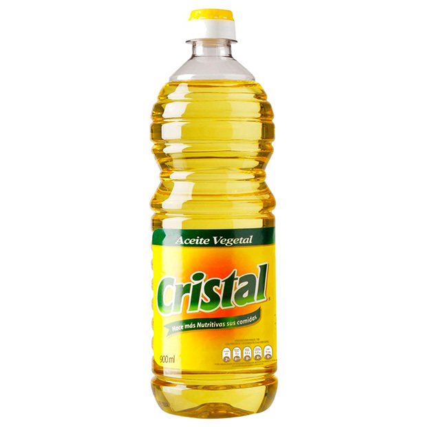 Aceite Vegetal Cristal 900 ml