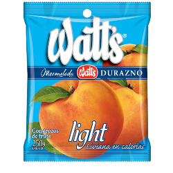 Mermelada Durazno Light Watt's 250 g.