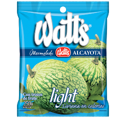 Mermelada Alcayota Light Watt's 250 g.