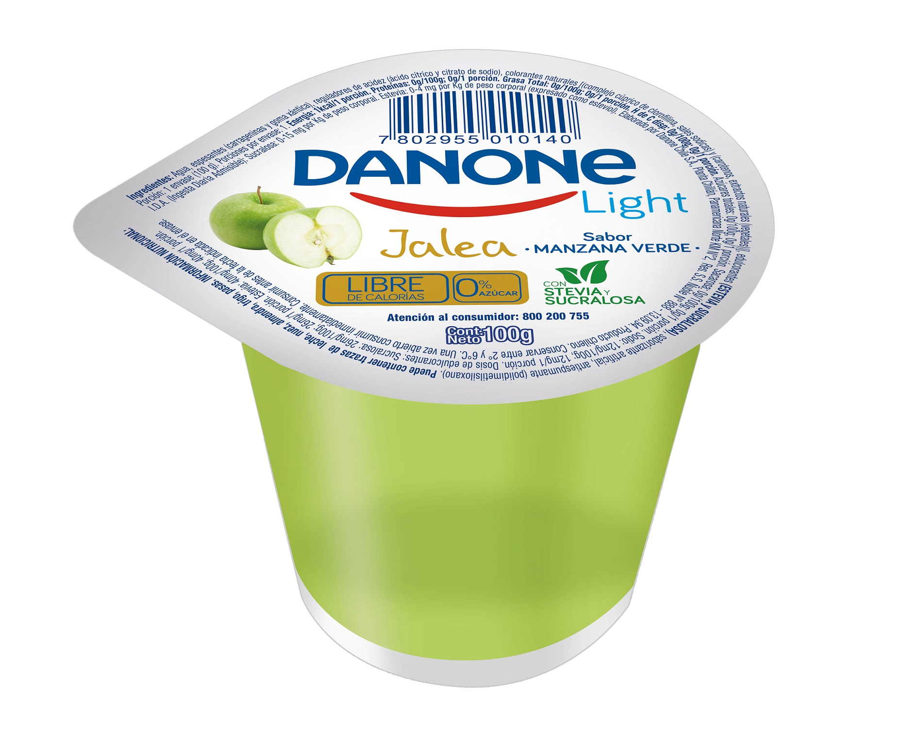 Jalea  Manzana Danone Light 100g