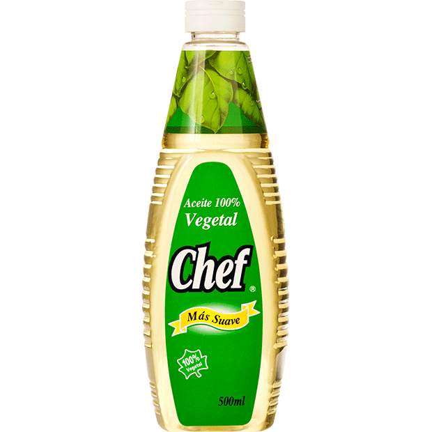 Aceite Vegetal Chef 500 ml
