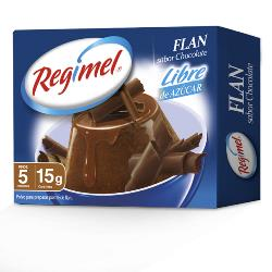 Flan  Chocolate Regimel 15 g.