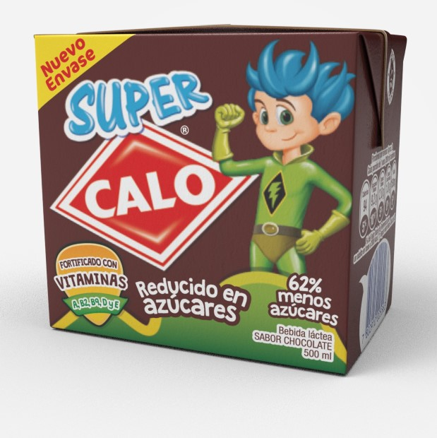 Bebida Láctea Chocolate Super Calo 500 ml