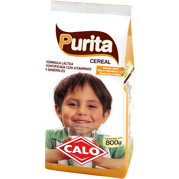Purita Cereal Calo 800 g.