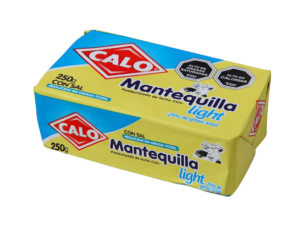 Mantequilla Light Light Calo 250 g.