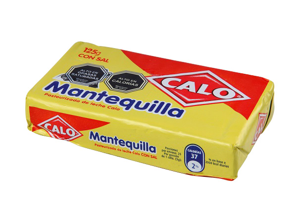 Mantequilla Regular Calo 125 g.
