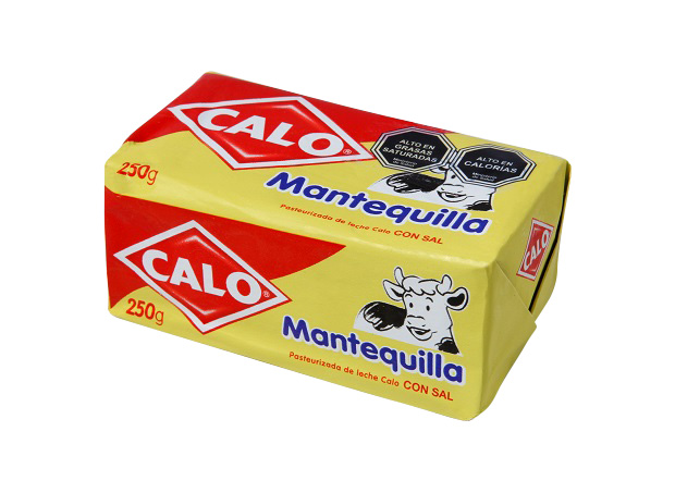 Mantequilla Regular Calo 250 g.