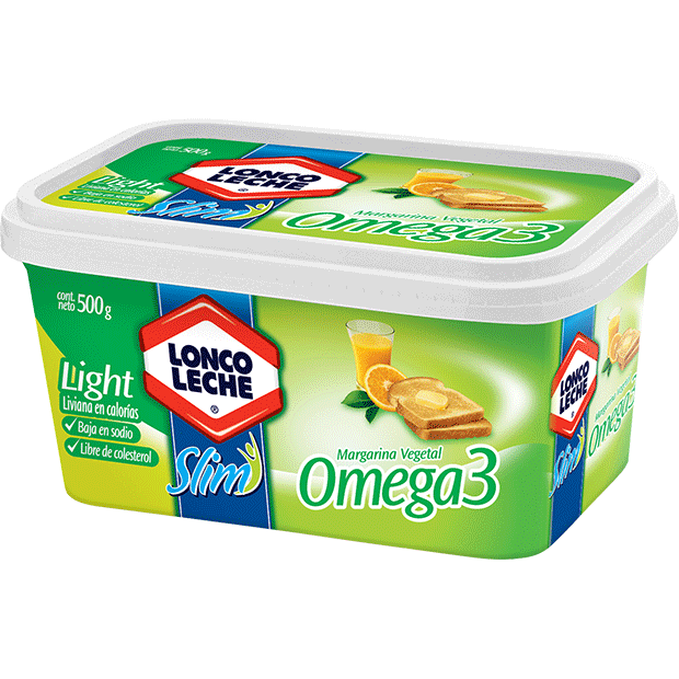 Margarina Omega 3 Loncoleche 500 g.