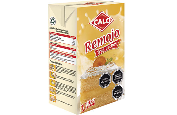 Remojo Tres Leches Tres Leches Calo 1 Lt.