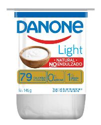 Yoghurt  Natural no endulzado Danone Light 145g