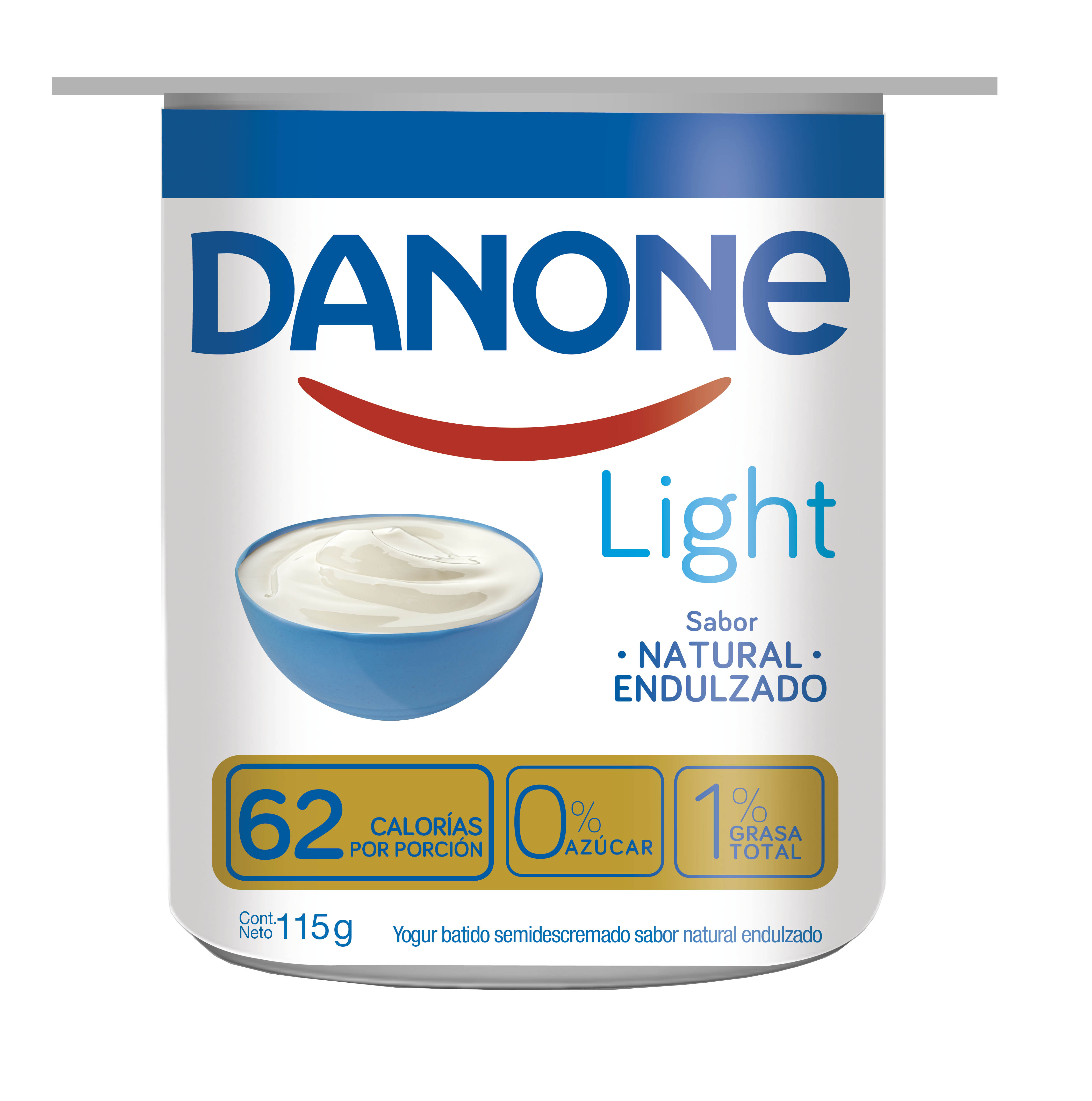 Yoghurt  Natural Semidescremado Danone Light 115g