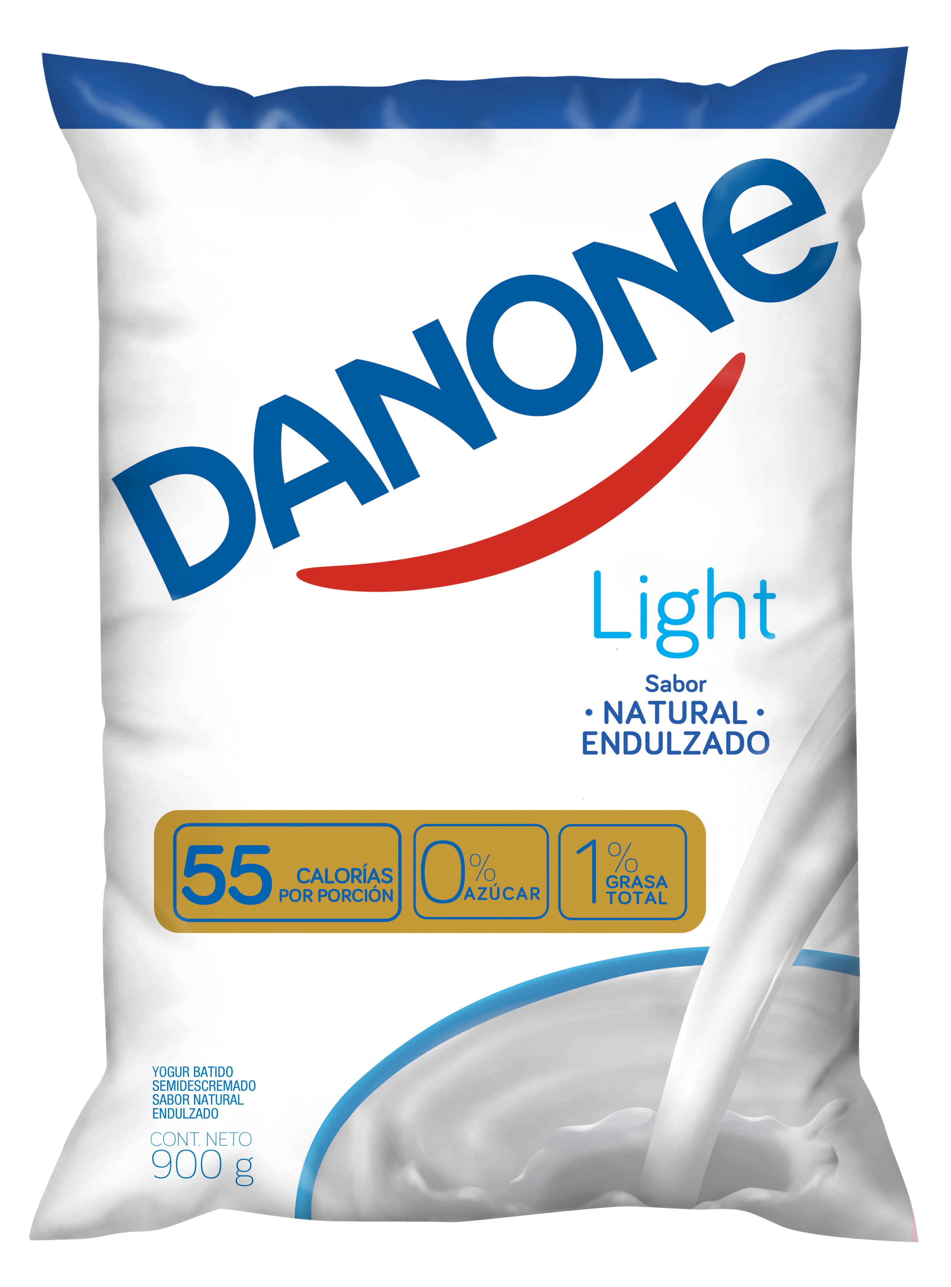 Yoghurt  Natural Semidescremado Danone Light 900g